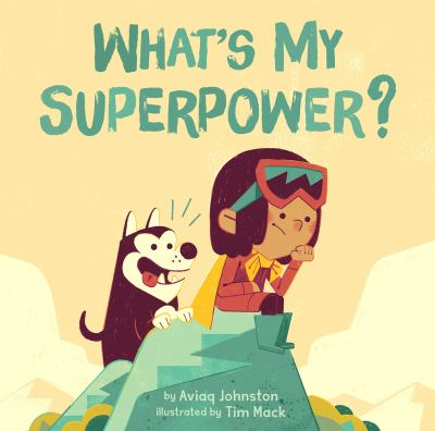 What's my superpower? Book cover