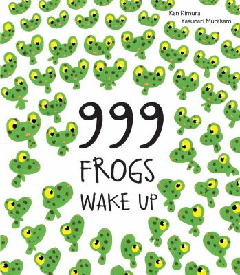 999 frogs wake up Book cover
