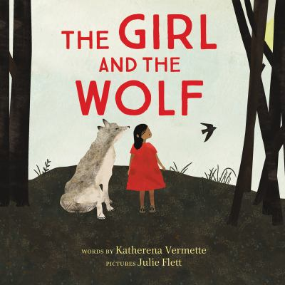 The girl and the wolf Book cover