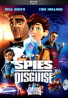 Spies in disguise Book cover