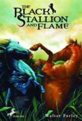 The black stallion and Flame Book cover