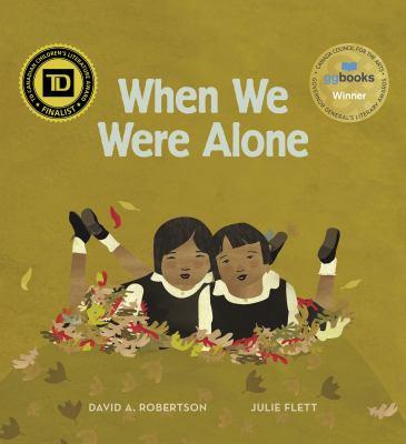 When we were alone Book cover