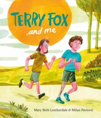 Terry Fox and me Book cover