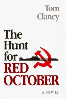 The hunt for Red October Book cover