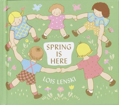 Spring is here Book cover