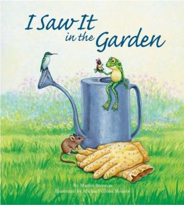 I saw it in the garden Book cover