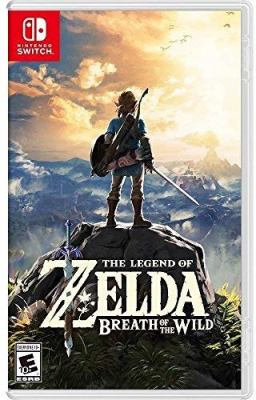 The legend of Zelda breath of the wild Book cover