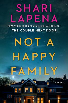 Not a happy family : a novel Book cover
